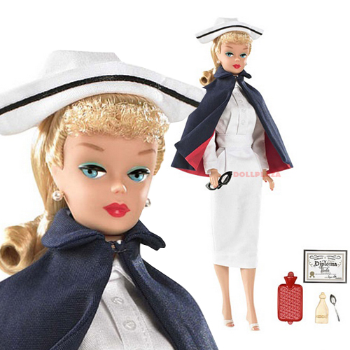 MY FAVORITE CAREER BARBIE DOLL The Nurse-R4470