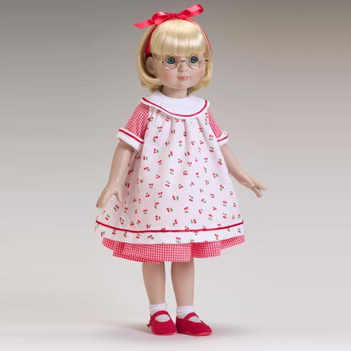 "TONNER 18""Cherries & Gingham-only outfit ME5402"