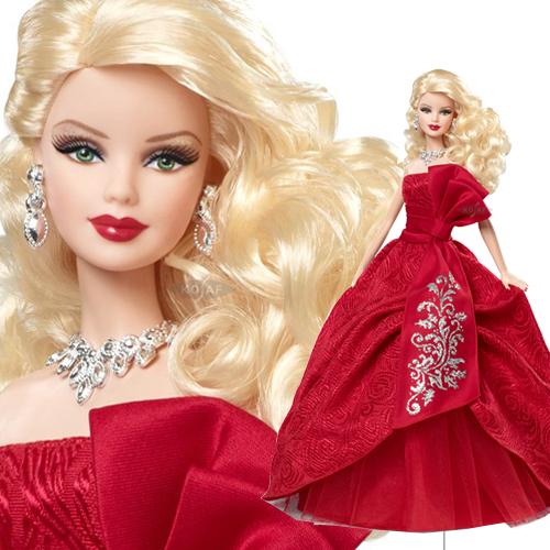 2012 Holiday Barbie™ Doll - W3465