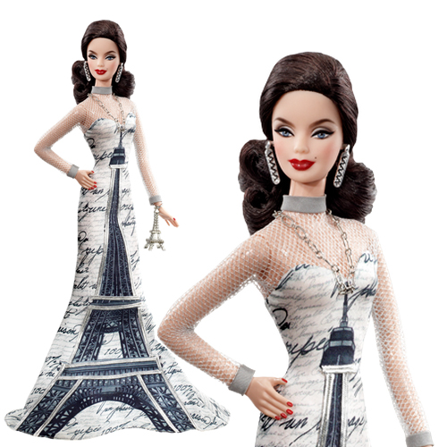 Eiffel Tower Barbie Doll-T3771