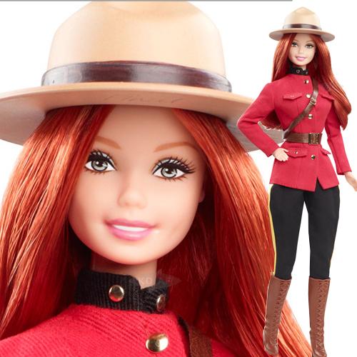 Canada Barbie Doll - X8422