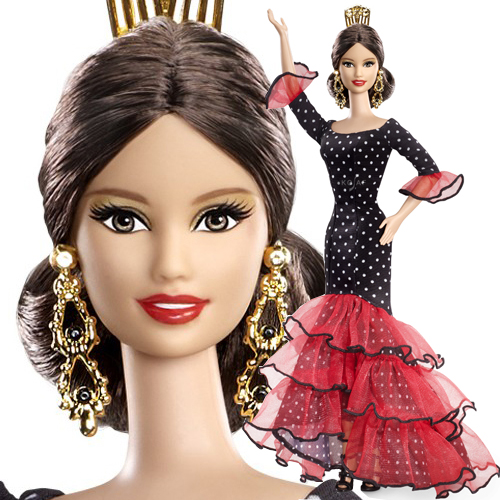 Spain Barbie Doll - X8421