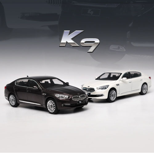 [JIGAMAREE]1:32 KIA K900 QUORIS WHITE & BROWN SET-event