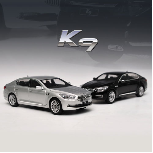 [JIGAMAREE]1:32 KIA K900 QUORIS BLACK & SILVER SET-event