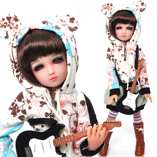 Ruby Red Galleria BJD Senson My Soul, My Music - Bridget (with Wig) - WC0007A