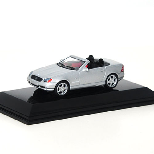 AUTOART 1:64 MERCEDES-BENZ SLK AMG ROADSTER SILVER_20111