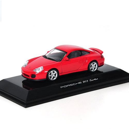 AUTOART 1:64 PORSCHE 911 TURBO 996 RED - 20311