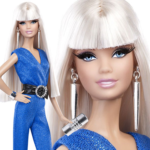Red Carpet Barbie - Blue Jumpsuit- BCP90