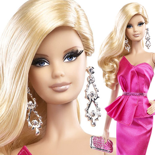Red Carpet Barbie - Pink Gown - BCP89