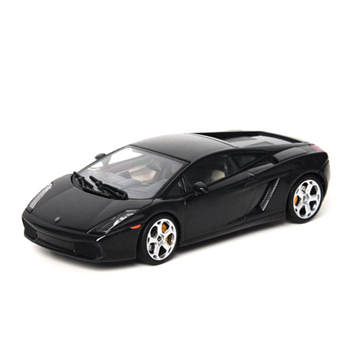 AUTOART 1:43 LAMBORGHINI GALLARDO METALLIC BLACK-54562