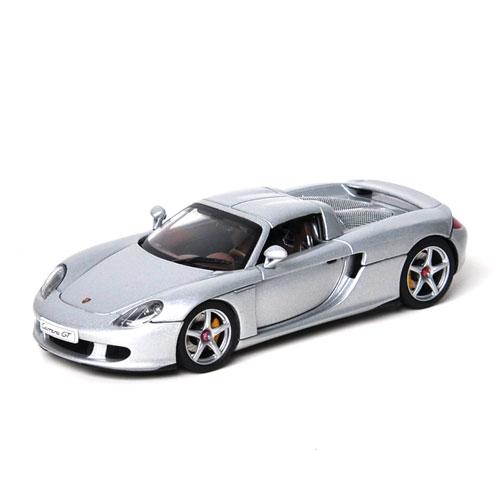AUTOART 1:43 PORSCHE CARRERA GT SILVER - 58041