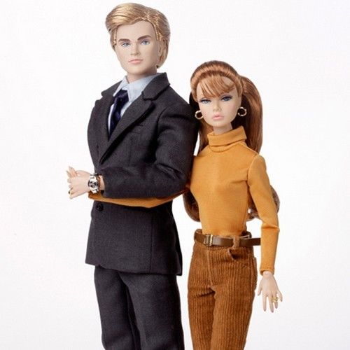 The Bratter Lovers Barefoot in the Park Poppy Parker and Chip Farnsworth III as Corie and Paul Bratter Two-Doll Gift Set - 14020