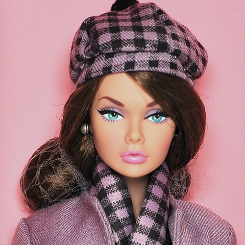 Perfectly Purple Poppy Parker Dressed Doll - PP019