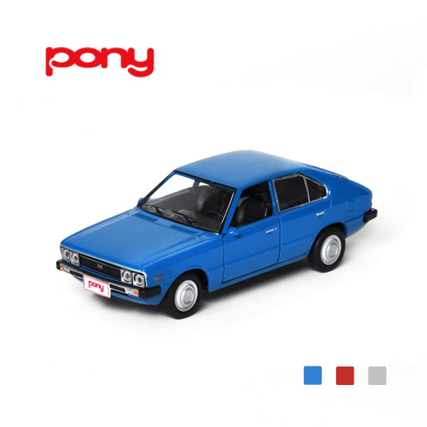 [HYUNDAI] 1:38  Pony Diecast Mini Car - 96610