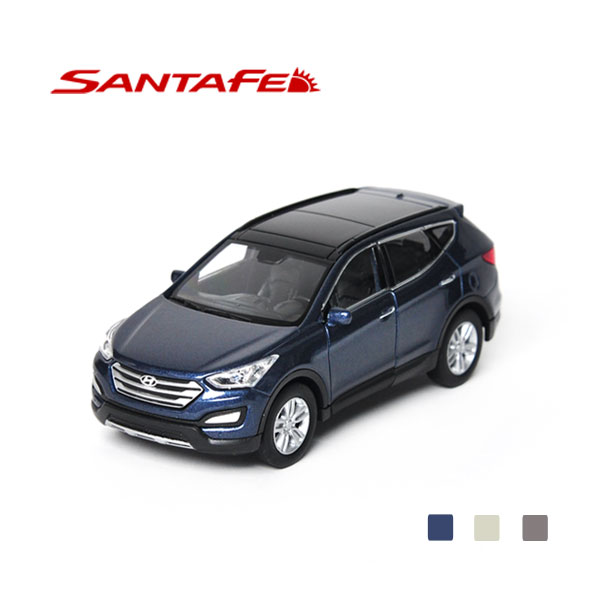 [HYUNDAI] 1:38  Santafe Diecast Mini Car - 96938