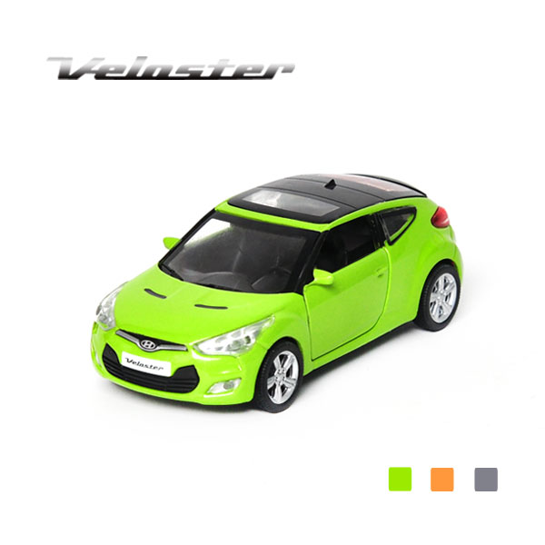 [HYUNDAI] 1:38 veloster Diecast Mini Car - 96605
