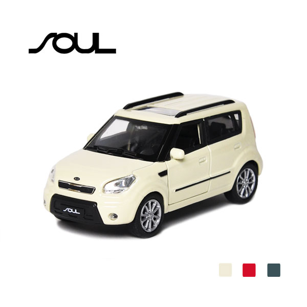 [KIA] 1:38 Soul Diecast Mini Car - 96604