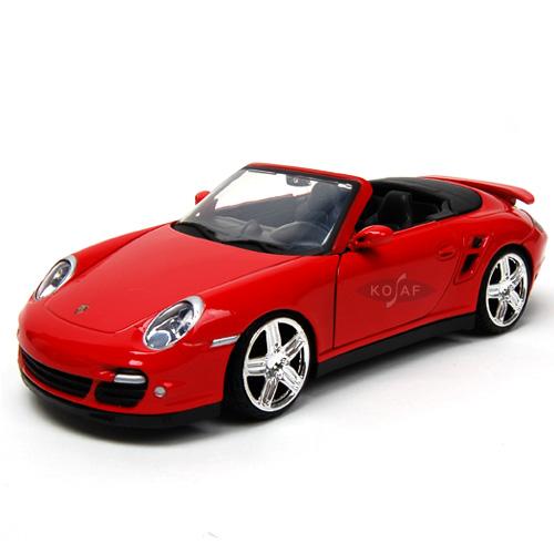 [MOTORMAX] 1:24 PORCHE 911 TURBO CABRIOLET - 73348