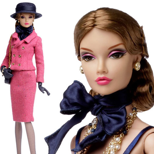 "16"" Poppy Parker Fashion Teen Fashionably Suited Dressed Doll - 84006"