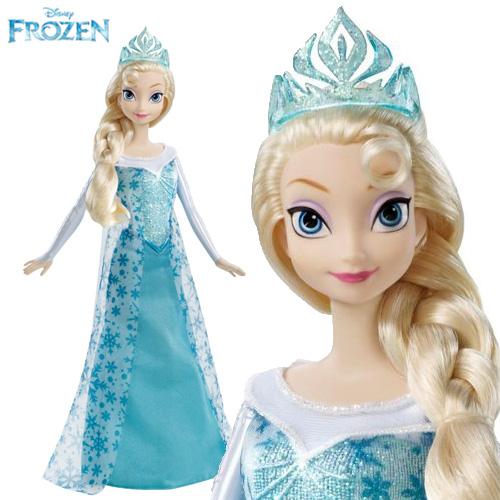 Frozen Sparke Elsa of Arendell doll - Y9960