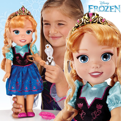 Frozen Toddler Anna Doll Play Set - 31008