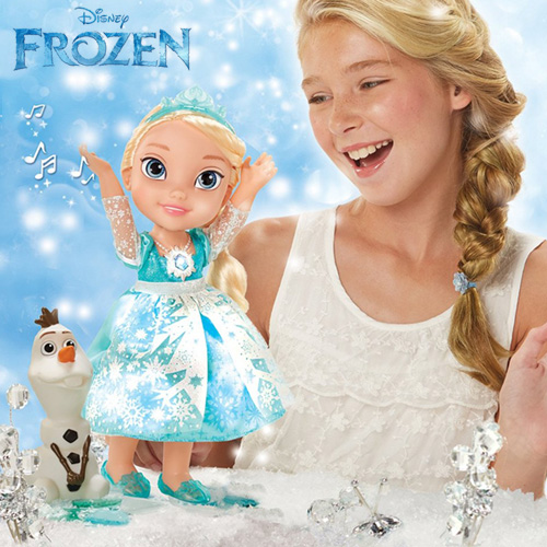 My First Disney Princess Frozen Snow Glow Elsa Singing Doll - 31058
