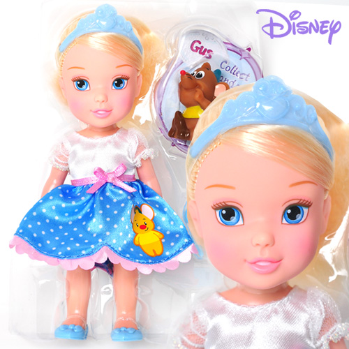 Disney Princess Petite Doll Cinderella and Gus - 75492