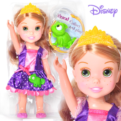 Disney Princess Petite Doll Rapunzel and Pascal - 75493