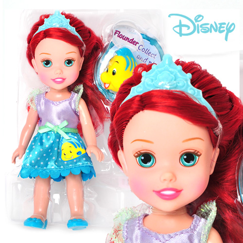 Disney Princess Petite Ariel and Flounder - 75494