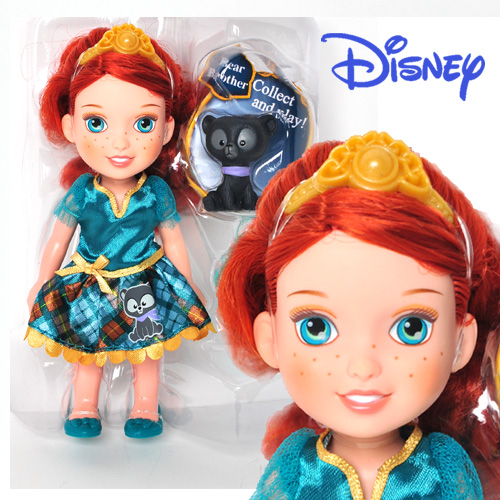 Disney Princess Petite Merida and Bear Brother - 75495