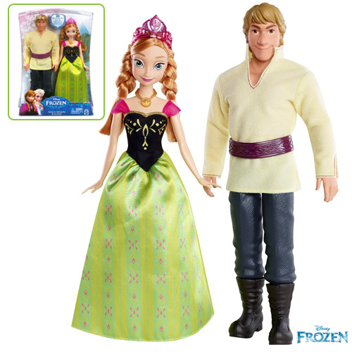 Disney Frozen Anna and Kristoff doll - BDK35
