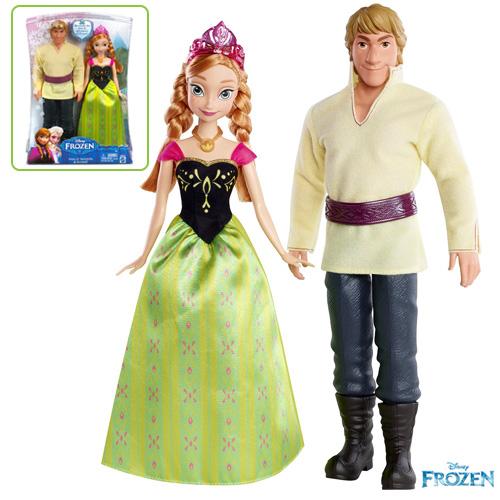 Disney Frozen Anna and Kristoff doll - BDK35