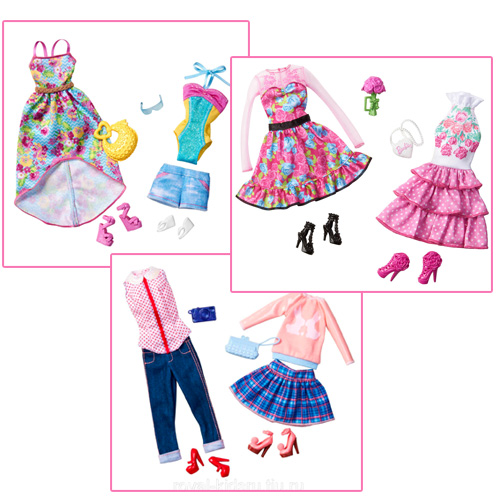 Barbie Day Looks Fashion Pack - CBX04