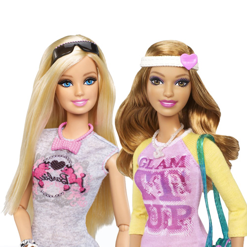 Barbie Doll and Fashion Summer Doll Giftset - BFW20