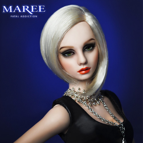 "BJD 16'' MSD Maree "" Fatal Addiction""  Ball Jointed Doll"