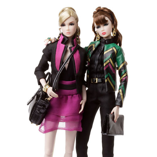 Nu.Face Lead Singles Lillith and Eden Two Doll Gift Set - 82043