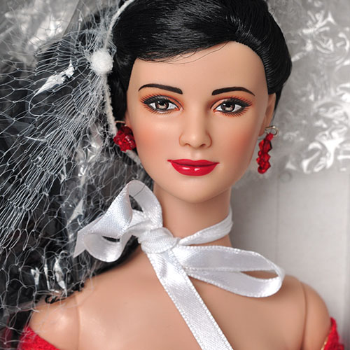 "Tonner 16"" Radiant in Ruby Charlotte-T6TWDD14"
