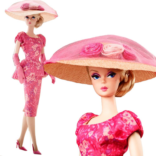 Fashionably Floral Barbie Doll Silkston-CGK91