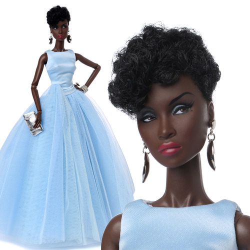 "FR 12"" Timeless Adele Makeda Dressed Doll - 91369"