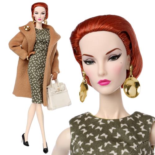 "FR 12"" Fine Print Elise Jolie Dressed Doll - 91374"