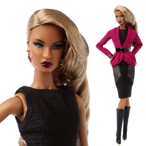 "[preorder] 12"" NU.FACE Electric Enthusiasm Dominique Makeda Dressed Doll - 82053"