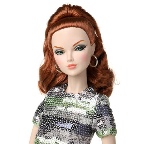 "[preorder]16"" Poppy Parker Fashion Teen Silver Shine Mallory Martin Dressed Doll - 84011"