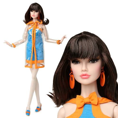 "[preorder]16"" Poppy Parker Fashion Teen Clear Over Here Dressed Doll - 84009"